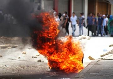 مواجهات في مدينة الخليل عقب قمع الاحتلال لمسيرة خرجت نصرة للأقصى