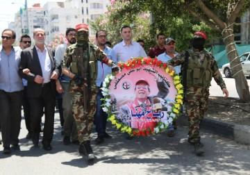 غزة تودّع القائد الوطني الكبير د.رباح مهنا