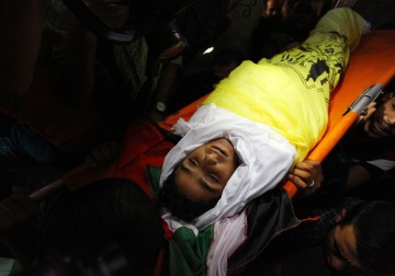 غزة تودع ثلاثة من أبطالها