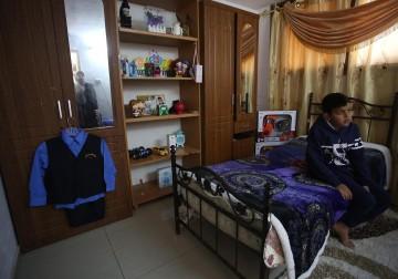 عائلة الطفل نادر حجازي تفتقده بسبب الاعتقال