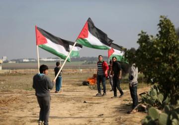 9 يناير .. مواجهات مع الاحتلال شرق غزة احتجاجاً على قرار ترامب بشأن القدس