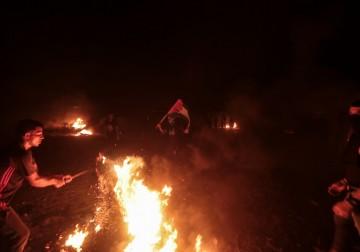 عودة فعاليات الإرباك الليلي شرق مدينة غزّة