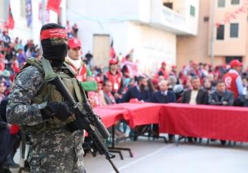 إنطلاقة الجبهة الشعبية الـ49 بمدينة غزة