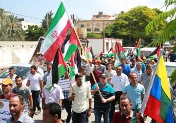 نُصرةً للمسجد الأقصى.. مسيرة للقوى الوطنية والاسلامية بغزة