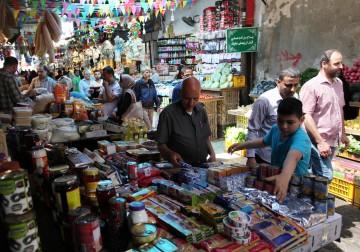 أسواق غزة خلال شهر رمضان