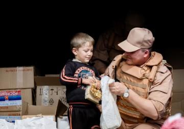 مساعدات روسية للسوريين