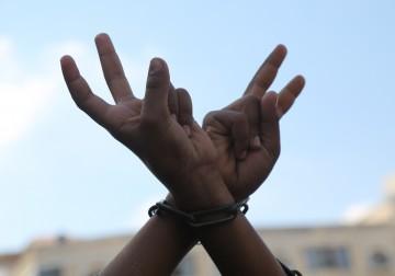 غزة: الشعبية تنظم وقفة تضامنيةمع الأسرى المضربين في سجون الاحتلال