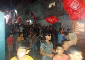 مخيم الدهيشة يخرج للمطالبة برفع عقوبات السلطة عن غزة