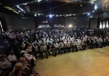 """""""المؤتمر الوطني الفلسطيني لمواجهة صفقة القرن ورفض ورشة البحرين"""" في غزة"""