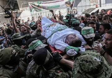 غزة تودع أقمارها السبعة