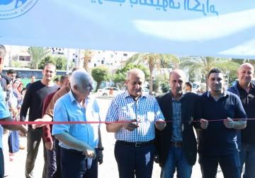 غزة.. اتحاد الشباب التقدمي الفلسطيني ينظم معرض