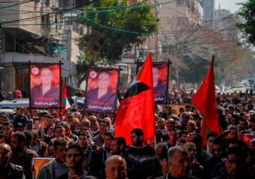 غزة تحيي الذكرى الأولى لاغتيال المناضل عمر النايف