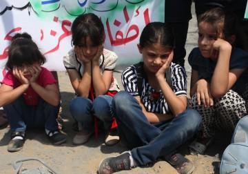 غزة.. تودع أطفالها الشهداء