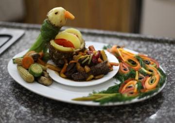 أول مسابقة للطبخ في قطاع غزة