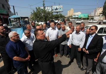 غزة: جولة للفصائل الفلسطينية في المواقع التي طالتها التفجيرات الإرهابية