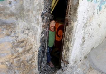 المخيمات في قطاع غزة