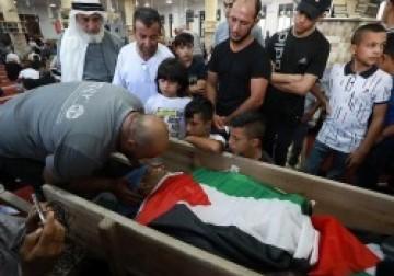 تشييع جثمان الشهيد رائد راشد بمدينة رام الله
