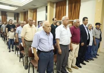 غزة: حفل تأبين الرفيق المناضل صلاح محمد