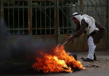 مواجهات خلال المسيرة الأسبوعية ضد الاستيطان في كفر قدوم