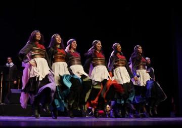 فرقة الفنون الشعبية الفلسطينية تحتفل بعيد تأسيسها الأربعين