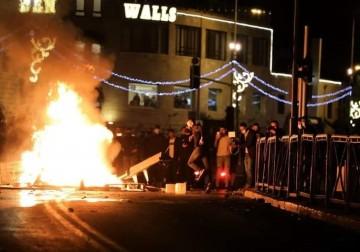 أبناء شعبنا في مدينة القدس يتصدّون ببسالة للهجمة الصهيونية المسعورة