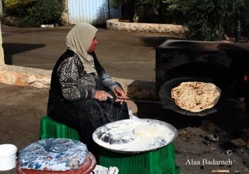 إحياء مهرجان حصاد الزيتون جاروعة 2016 في بلدة برقين