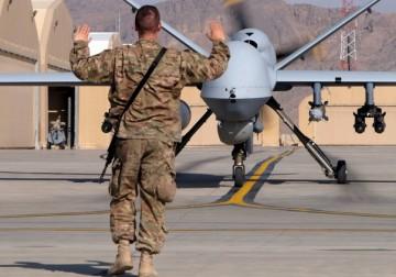 حرب الطائرات من دون طيار .