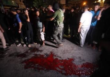 3 شهداء من الشرطة تفجيرات إرهابية بغزة