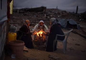 حال الفقراء في الشتاء .