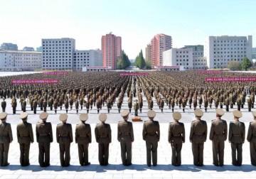 كوريا الشمالية: الموت للإمبرياليين