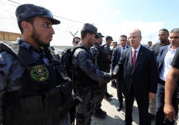 حكومة الوفاق تختتم جولتها في قطاع غزة