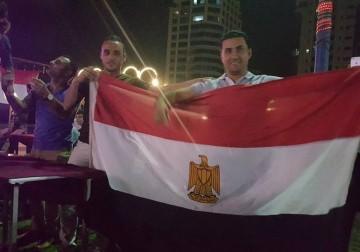 غزة تفرح لمصر