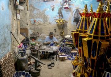 صانع الفوانيس في مصر