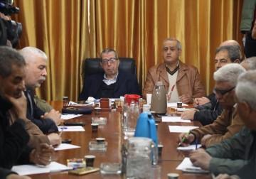 """اجتماع الفصائل لبحث الأوضاع بغزة في ظل قمع حراك """"يسقط الغلاء"""""""