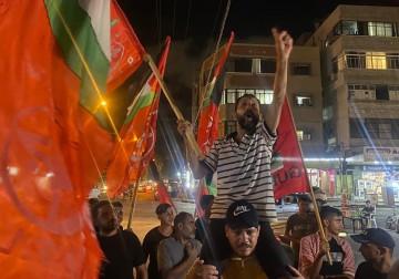 غزة: الشعبيّة تنظم وقفة حاشدة دعمًا للأسرى وابتهاجًا بنصر أبطال نفق الحرية