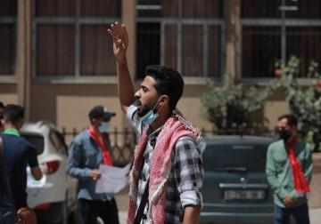 غزة: وقفة في جامعة الأزهر رفضًا لقرارات الجامعة المجحفة بحق الطلبة