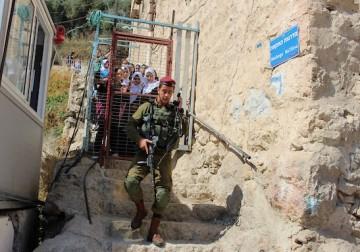 إجراءات مشددة في الخليل تمهيدا لاقتحام نتنياهو