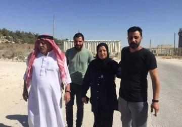 غسان زواهرة يتنسم عبير الحرية..