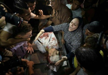 غزة تودع أطفالها الشهداء