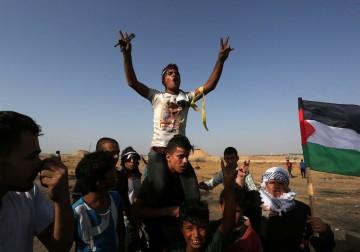 إصابات خلال قمع الاحتلال للمُشاركين في مسيرات العودة