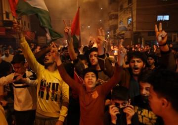 الآلاف في قطاع غزّة ينتفضون إسنادًا لأبناء شعبنا في مدينة القدس