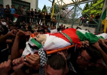 أبناء شعبنا يشيعون الطفل الفلسطيني سعيد عودة جنوب نابلس