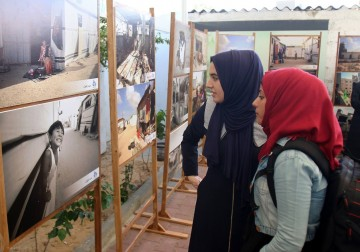 بيت الصحافة ينظم معرضًا للصور ضمن حملة #غزة_إعمار_لم_يكتمل
