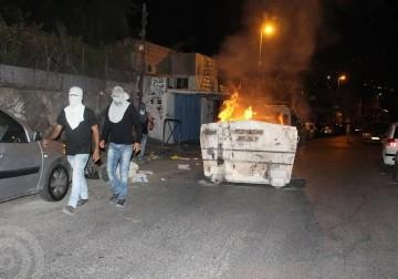 مواجهات مع الاحتلال بالحي الثوري بالقدس المحتلة