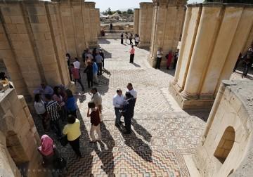 فلسطين تكشف عن أكبر لوحة فسيفساء في العالم