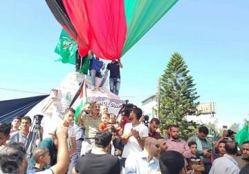 غزة تفرح لتوقيع اتفاق المصالحة