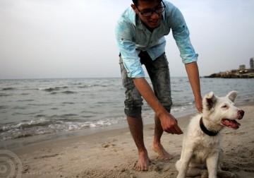 غزة: البحر متنفس وحيد للسكان