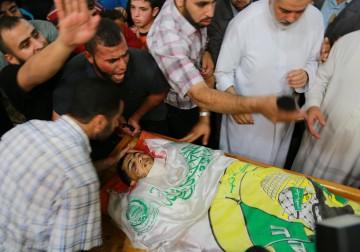 شهيدان واصابات في  مواجهات غزة اليوم