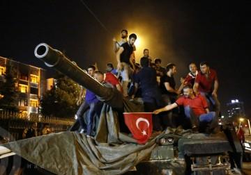 انقلاب تركيا الفاشل.