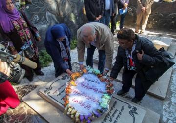 على شرف يوم الشهيد الجبهاوي / الشعبية تزور ضريح القائد محمد الأسود